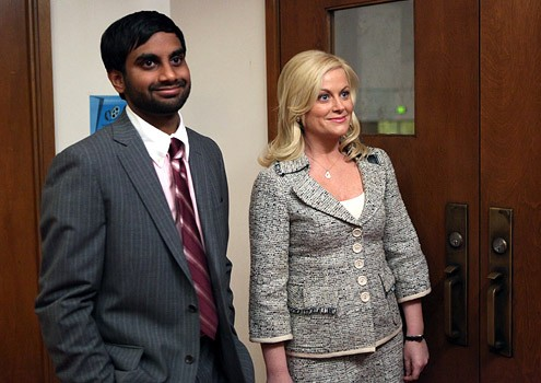 Tom Haverford (Aziz Ansari) is in love with his green-card Canuck wife.