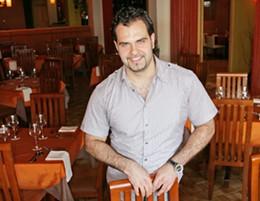 Tony Nahas serves big taste on small plates at Mezza.photo Julé Malet-Veale