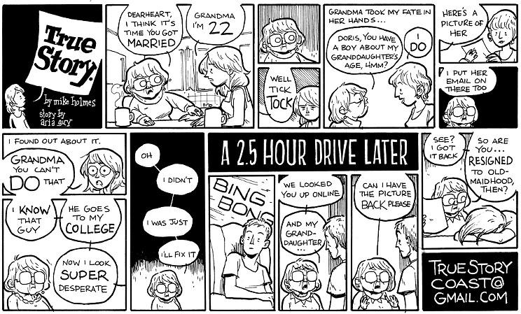 True Story by Aria Guy
