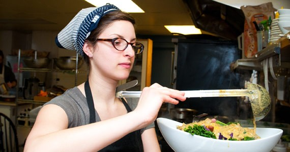 Try the greens at Heartwood Bakery & Cafe, which has been a success on the organic/vegetarian front - BIANCA MÜLLER