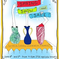 Turnstile Pottery Co-op's Spring Show & Sale