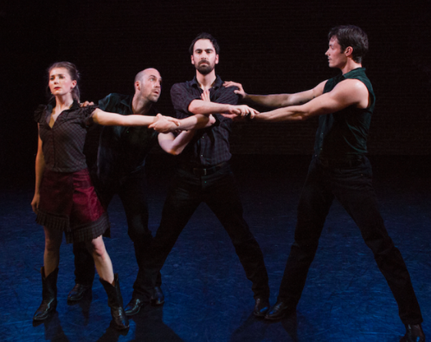 Citadel+Compagnie perform works by Canadian choreographer James Kudelka that celebrate atypical inspirations like Johnny Cash (see 3). - JOHN LAUENER PHOTO