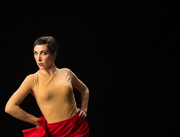 Maria Osende gives beginners the basics of ballet (see 9). - J. VALLINAS PHOTO