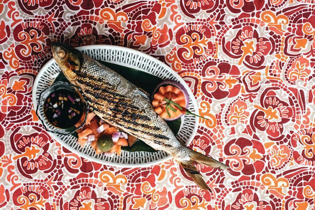Erick De Los Reyes' inihaw na bangus (AKA milk fish). - ALEXA CUDE