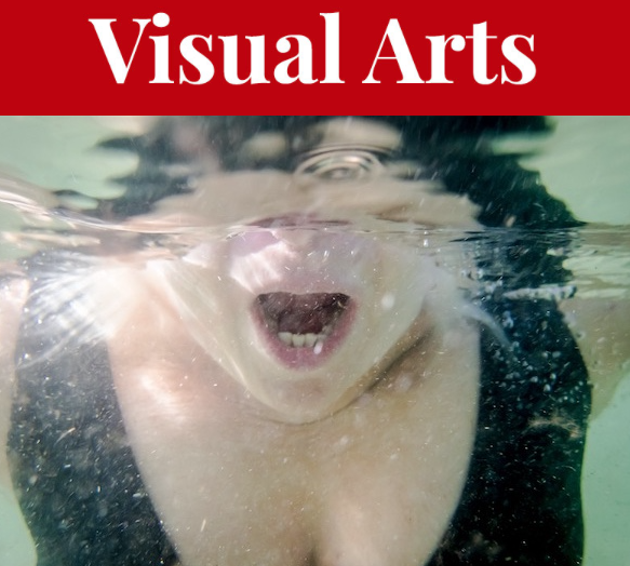 Lynn Ellis explores how elusive it is to know yourself with a set of underwater self-portraits at ViewPoint Gallery. - LYNN ELLIS PHOTO