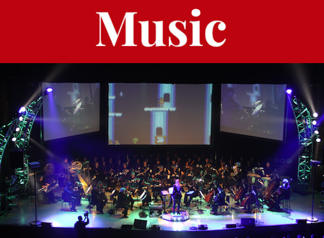 Video Games Live, a show that sees a full symphony tackle gems like the Sonic soundtrack, arrives at the Rebecca Cohn Auditorium. - SUBMITTED PHOTO