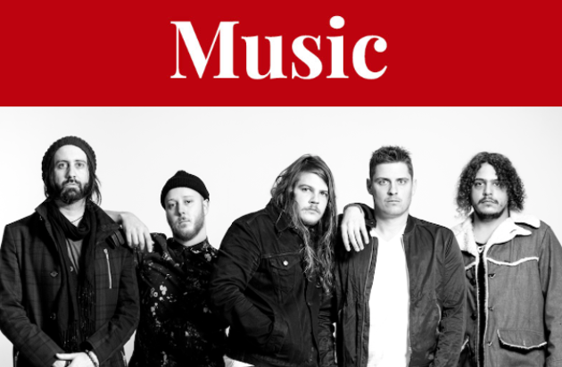 The Glorious Sons, critical darlings who also get tons of radio play, rock out at the Garrison Backlot Bash this weekend. - SUBMITTED PHOTO