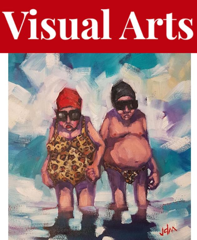Jamie McCallum's portraits of aging bodies arrive at 14 Bells Gallery. - JAMIE MCCALLUM ARTWORK