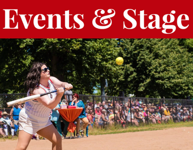 The Dykes vs Divas softball game sees drag queens and lesbians face off on the final day of the Halifax Pride festival. - HALIFAX PRIDE PHOTO