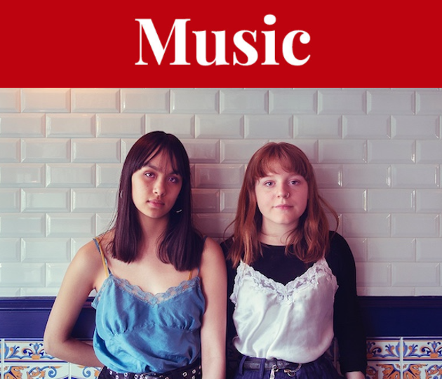 Up-and-coming folk duo Moscow Apartment opens for Paper Beat Scissors at an epic Halifax Urban Folk Fest show Sunday. - MELANIE GORDON PHOTO