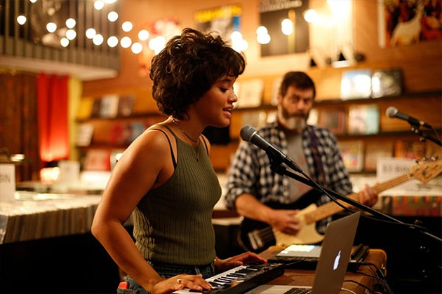 Kiersey Clemons and Nick Offerman make sweet jams in Hearts Beat Loud. - SUBMITTED