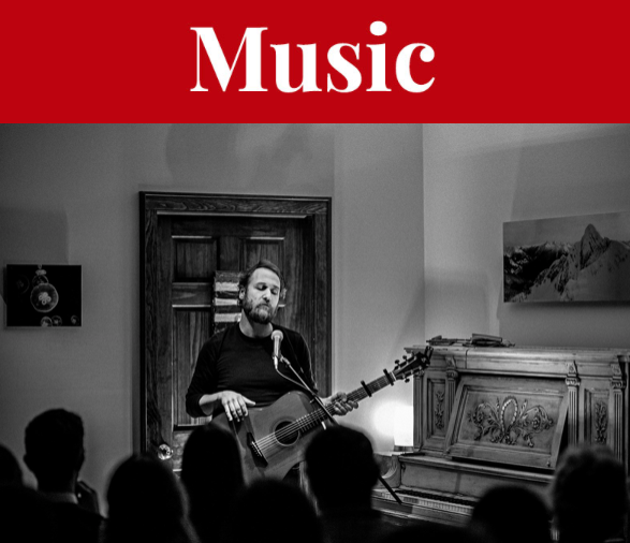Craig Cardiff is one of The Carleton's favourite musicians—high praise for a spot that sees so many troubadours trailing through. - SUBMITTED PHOTO