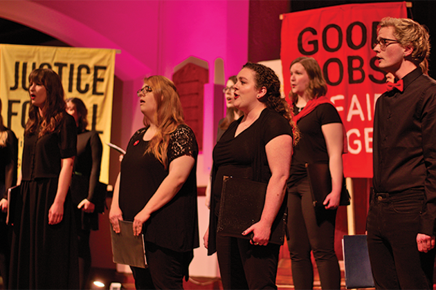 """Polaris Choir performs as part of """"Songs of Resilence,"""" happening May 9. - FOUNDRY PHOTOGRAPHY"""