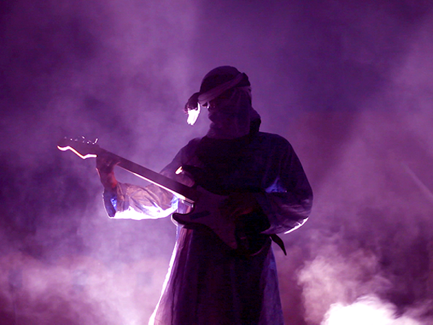 Moctar first became noticed via popular pirated mp3s in Africa. - JEROME FINO