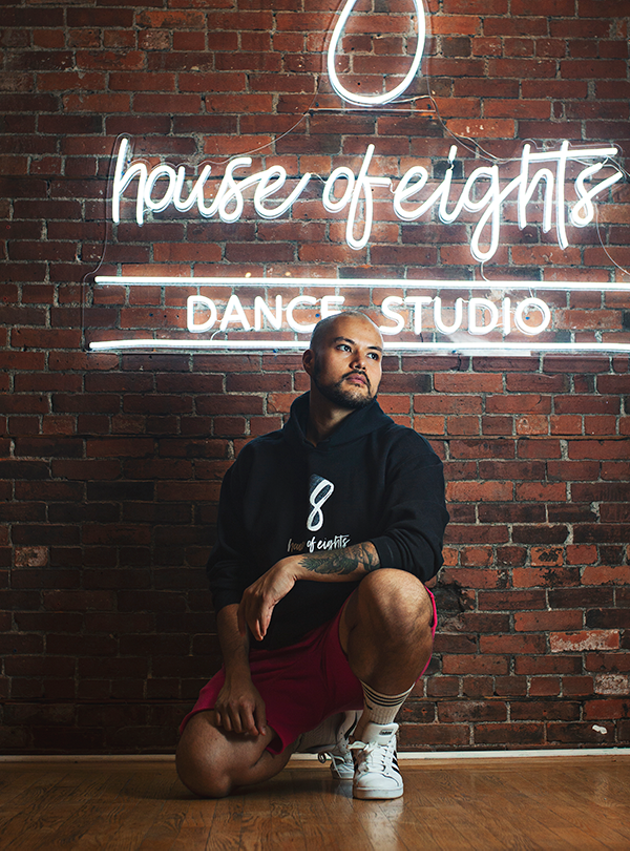 Late-blooming dancer Abady Alzahrani wants to see your inner Beyoncé. - LENNY MULLINS
