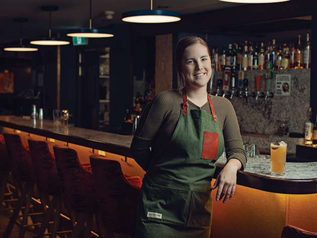 Anne-Marie Bungay-Larose says Halifax is home to a supportive bartending scene. - LENNY MULLINS
