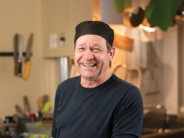 Eldon Turner takes good ol' Maritime hospitality to new levels at Eldon's Soup and Sandwiches. - IAN SELIG