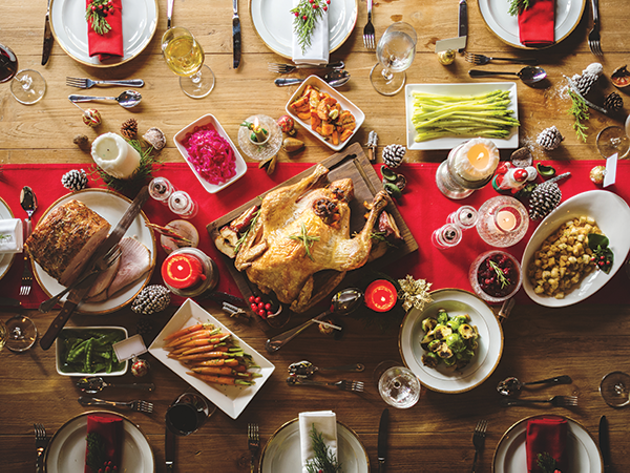Welcoming people to a feast, no questions asked, is true holiday spirit.