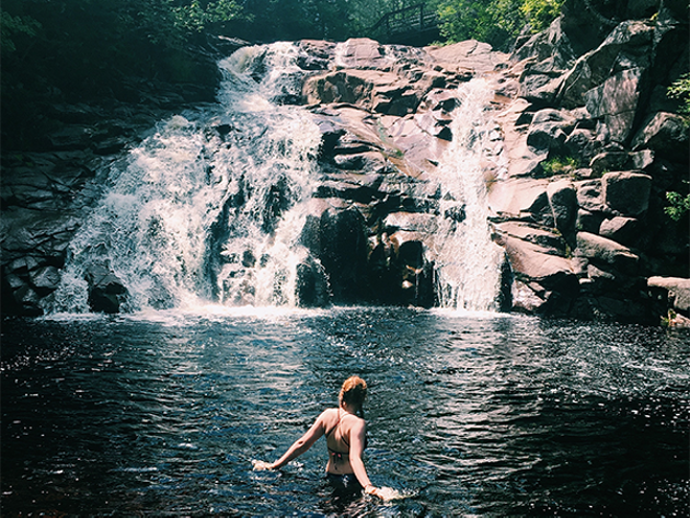 Take a plunge into Mary Ann Falls next time you're in the highlands. - DERRICK FUNK