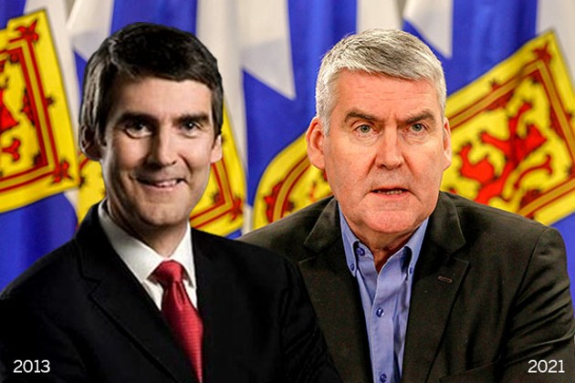 The two faces of Steve: McNeil from his premiere as NS premier to the closing curtain. - THE COAST