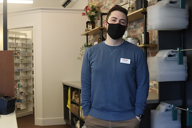 Greg Richard, 28, is the owner of Boyd's Pharmasave. - THE COAST