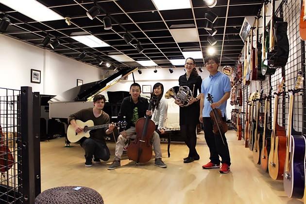 Fantasie Music's team of instructors - VIA FACEBOOK