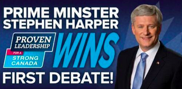 Via a (since deleted) tweet by the Conservative Party's debate Twitter account.