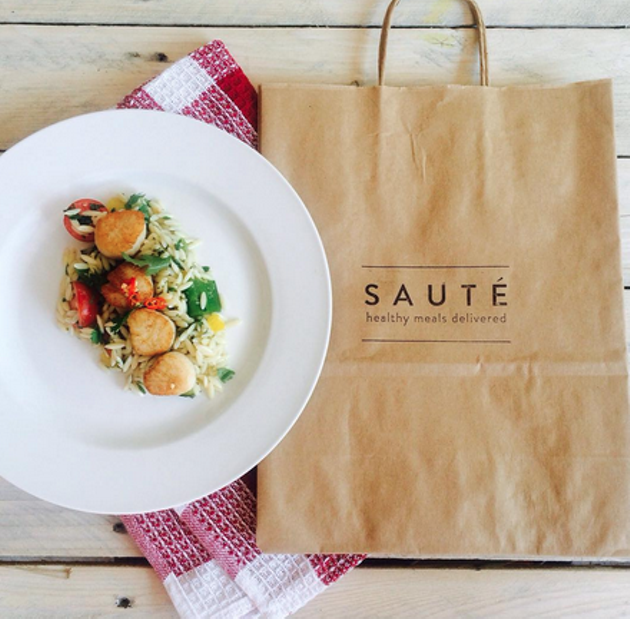 Lunch is served - VIA @TRYSAUTE