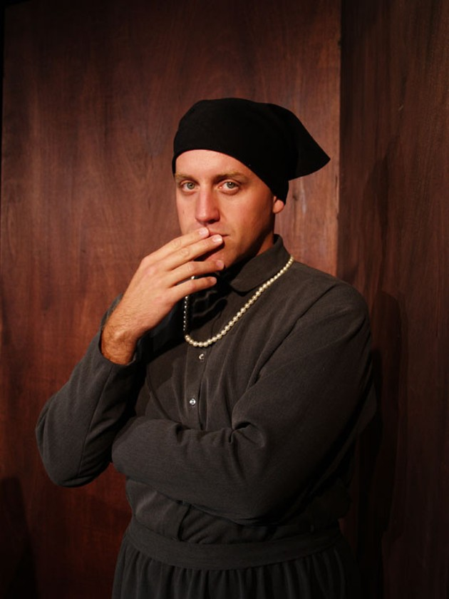 Stewart Legere plays a complicated gay icon among dozens of characters. - SHAKESPEARE BY THE SEA