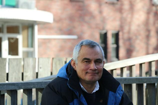 Lawyer and activist Francisco Ramirez Cuellar in Halifax. - MILES HOWE