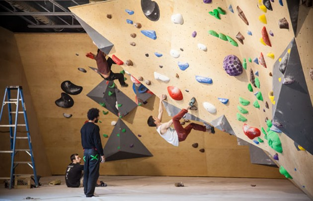 Seven Bays Bouldering—full body work out and adult jungle gym - JORDAN BLACKBURN