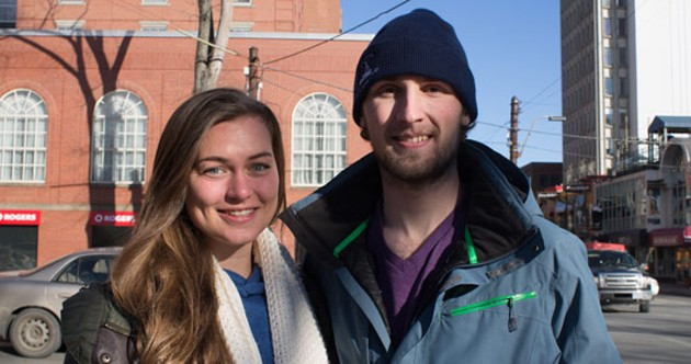 Brittany Harmon and Matt Scott, co-founders of Supper With Strangers. - EMILY RENDELL-WATSON
