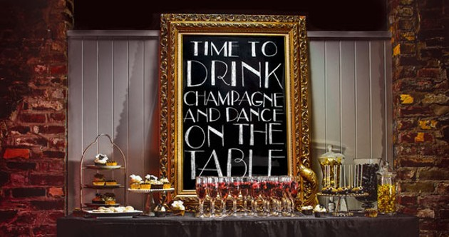 If table-dancing is one of your wedding day must-haves, go ahead and make it happen. - TOPHER & RAE STUDIOS