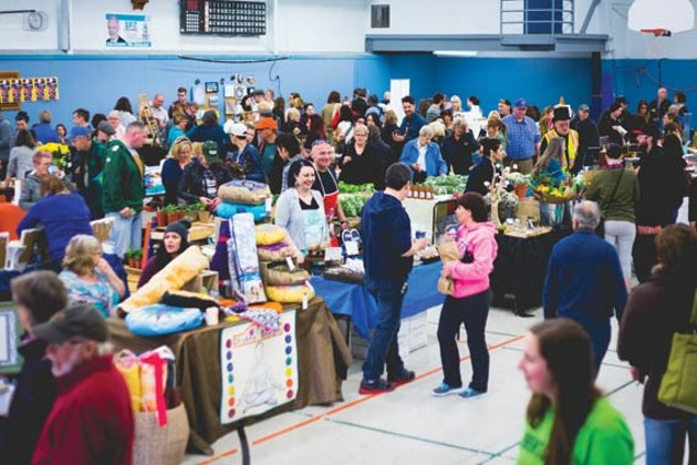 A jam-packed first day at the Spryfield & District market. - JESSICA JUDGE