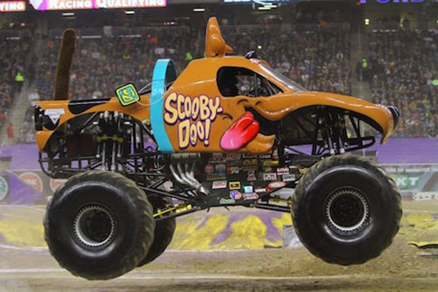 Monster Jam screams into the city this weekend (see number 6). - FELD MOTOR SPORTS
