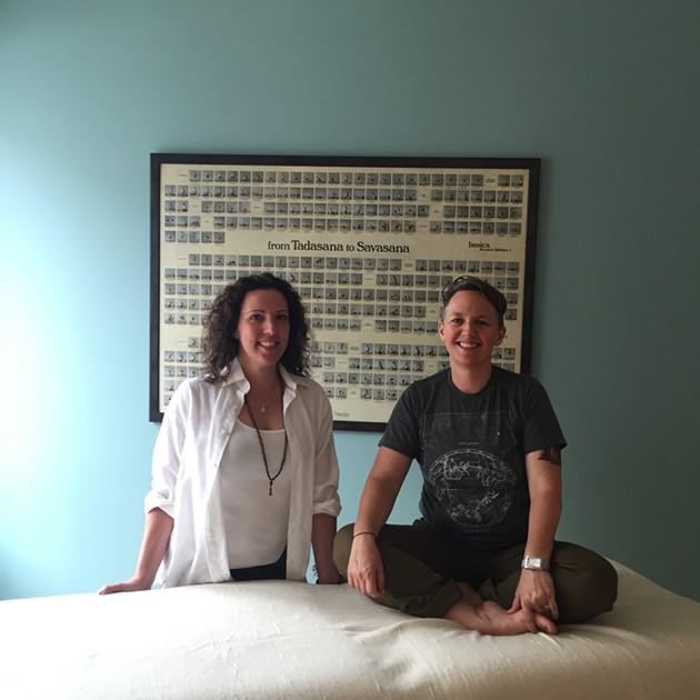 Pramana's Alica Wright and Lara Frankcom - SUBMITTED