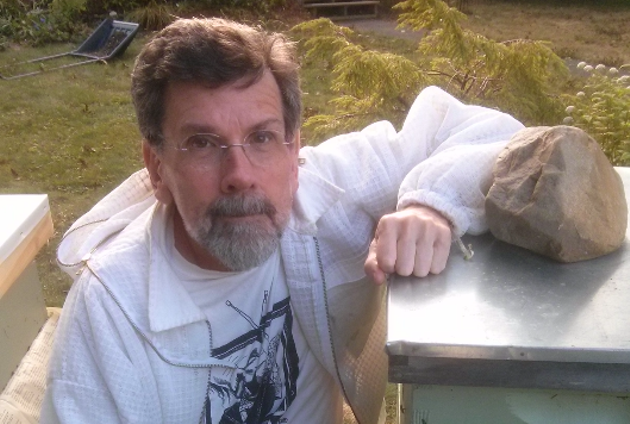 David Henry is an amateur beekeeper and a volunteer with the Citizens Climate Lobby.
