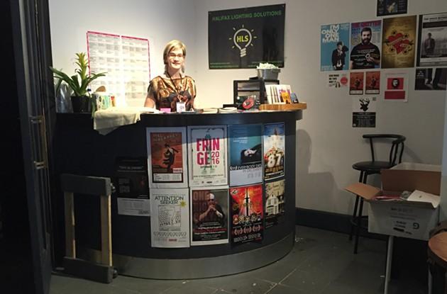 April Hubbard at the box office