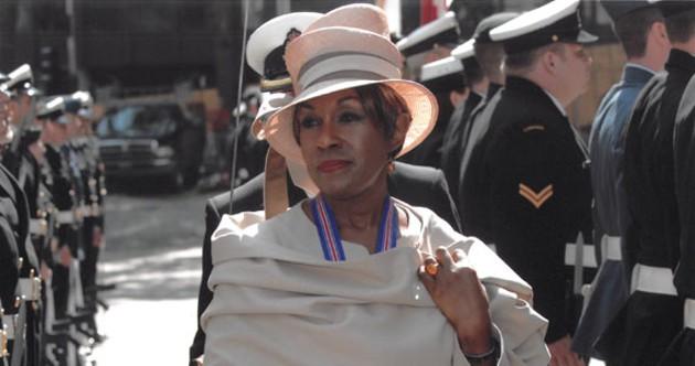 Hats matter when you're repping the Queen. - COMMUNICATIONS NOVA SCOTIA