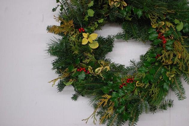 A Humble Burdock wreath