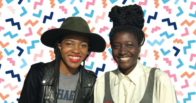 Isabelle Ofume and Shaya Ishaq want to bring you the Two Brown Girls podcast live. - ALLIE GRAHAM