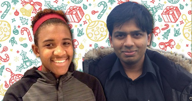 Itai Kuwodza and Siddhartha Siddik have learned from holidays in Halifax. - SARAH POKO