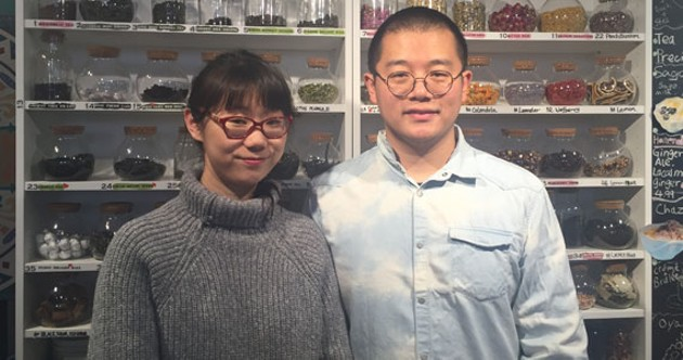 """Mengnan Qu and Yu Xia think """"learning a craft from a different culture is the best thing."""" - AYA AL-HAKIM"""