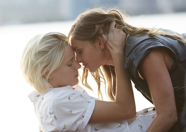 Erika Linder and Natalie Krill in Below Her Mouth. - ELEVATION PICTURES