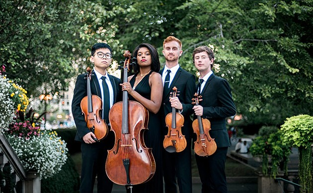 For Chicago's Yas Quartet, inclusion is everything.
