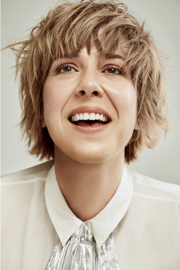 Serena Ryder brings a new '80s-synth sound to the Casino (see 4). - SUBMITTED