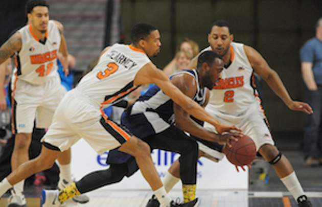 The Halifax Hurricanes face off against the Moncton Miracles in the division semi-finals (see 2). - SUBMITTED