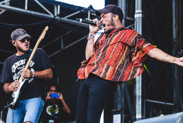Anderson .Paak lights up Jazz Fest with hot hits Saturday (see 1). - SUBMITTED PHOTO