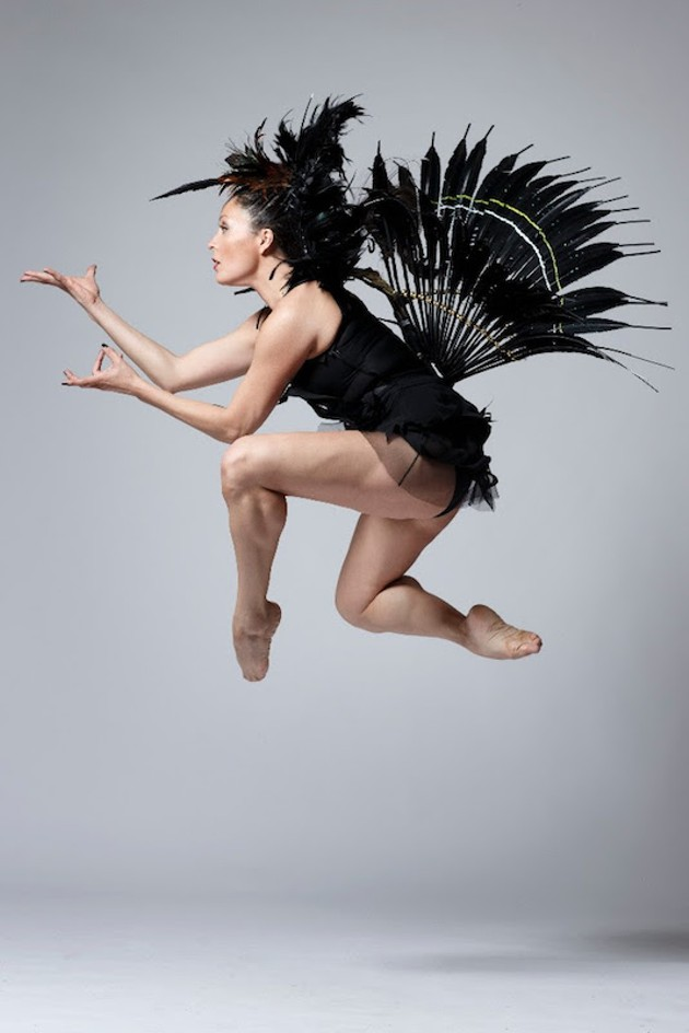 Santee Smith's Re-Quickening explores the intersection of Indigenous and new dance performance. - DAVID HOU