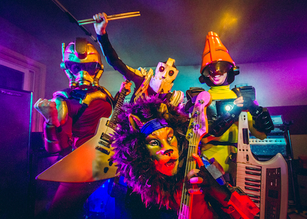 TWRP keep it weird at The Seahorse with their costume-fuelled rock (see 4). - NATHAN BOONE